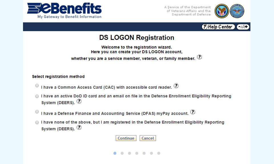So, How Do I Get Onto the VA eBenefits Site? - Nextgov