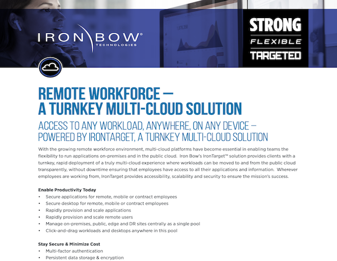 Remote Workforce - A Turnkey Multi-Cloud Solution